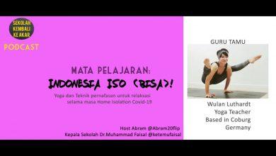 Photo of Podcast – Mata Pelajaran Indonesia Iso (Bisa) bersama Wulan Luthardt