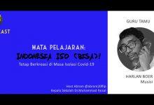 Photo of Podcast – Mata Pelajaran Indonesia Iso (Bisa) bersama Harlan Boer