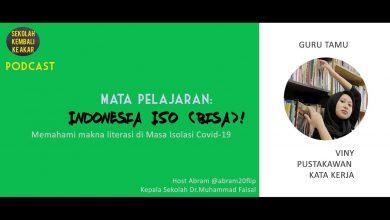 Photo of Podcast – Mata Pelajaran Indonesia Iso (Bisa) Pustakawan Kata Kerja Viny